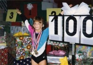 gymnastics days - 9 years old